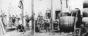 1890s_winemaking_barrel_shop_in_Zikhron_Yaakov