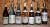 7 бутылок на дегустацию белых вин
