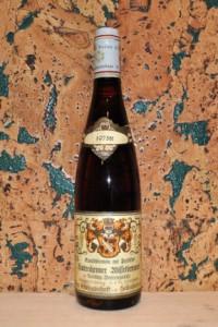 Riesling Beerenauslese Hattenheimer Wisselbrunnen Rheingau 1975
